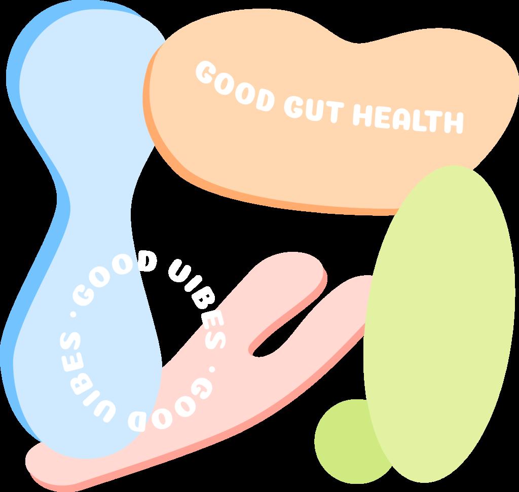 腸道環境好 Good gut good vibes